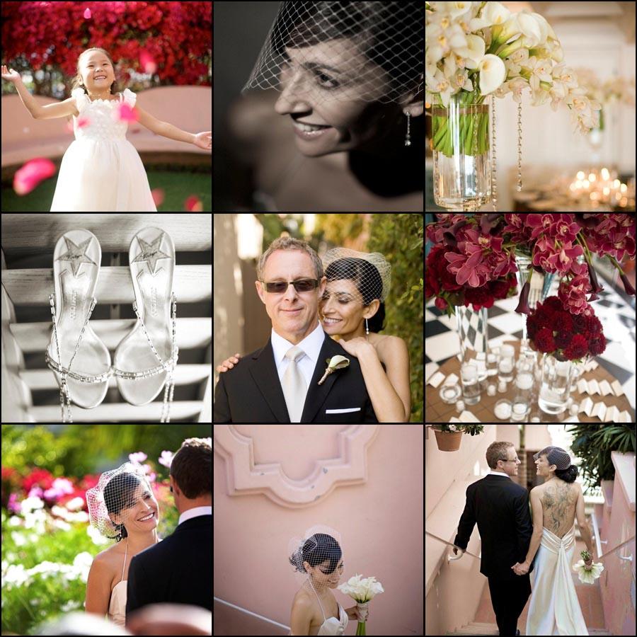 La Valencia Hotel wedding