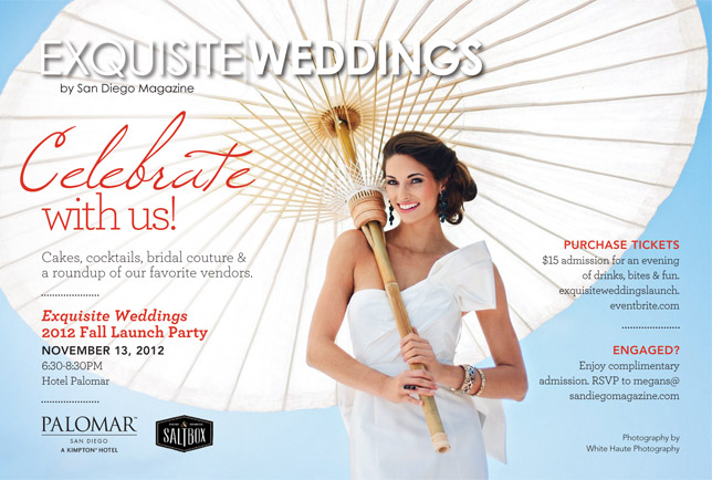 special bridal event | exquisite weddings magazine launch party